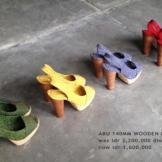Collection Niluh Djelantik - Chaussures à talons multi-motifs