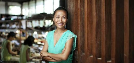 Niluh Djelantik, créatrice Balinaise de chaussures à talons