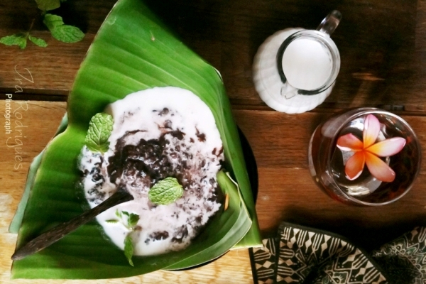 Bubuh Injin - dessert indonésien
