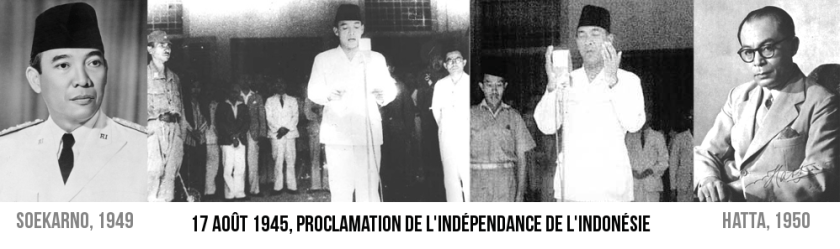 independance day indonesie 17 aout 1945