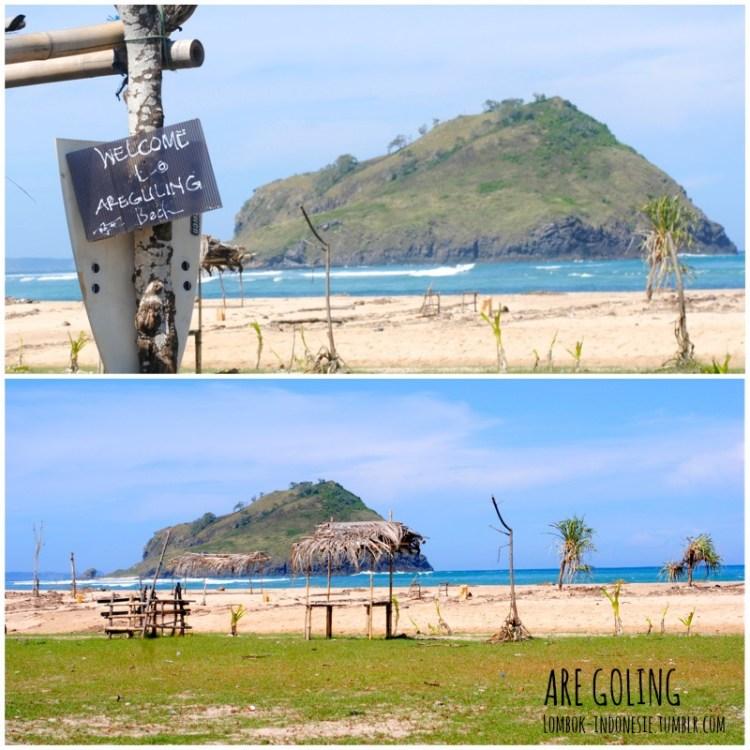 n°5 : la plage d'Are Goling (Argo) à Kuta Lombok - Top 5 des plus jolies plages