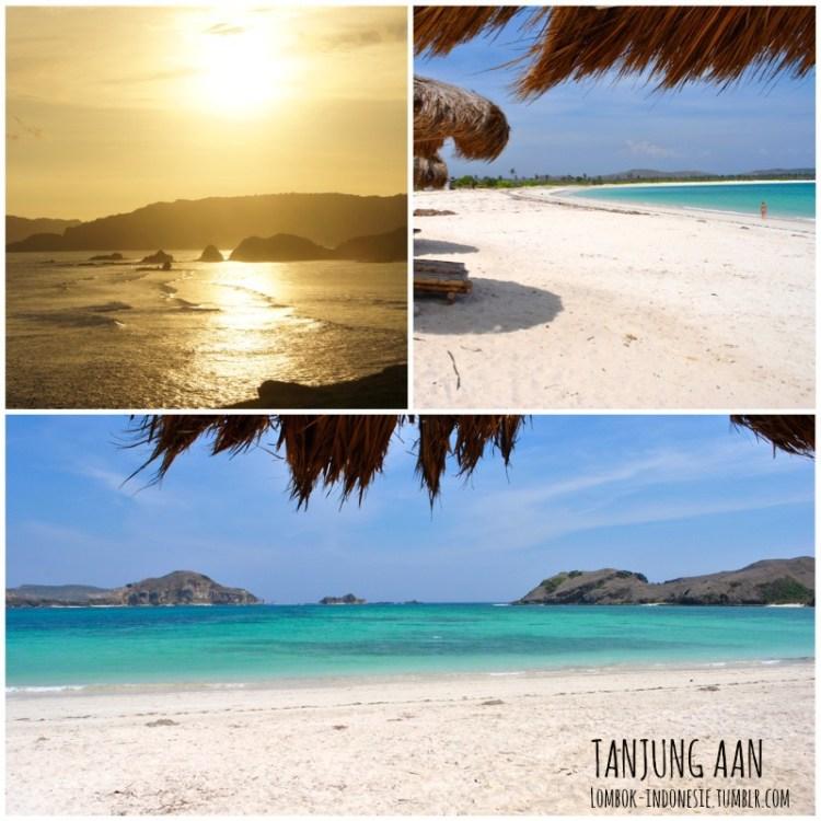 n°1 : la plage de Tanjun Aann à Kuta Lombok - Top 5 des plus jolies plages