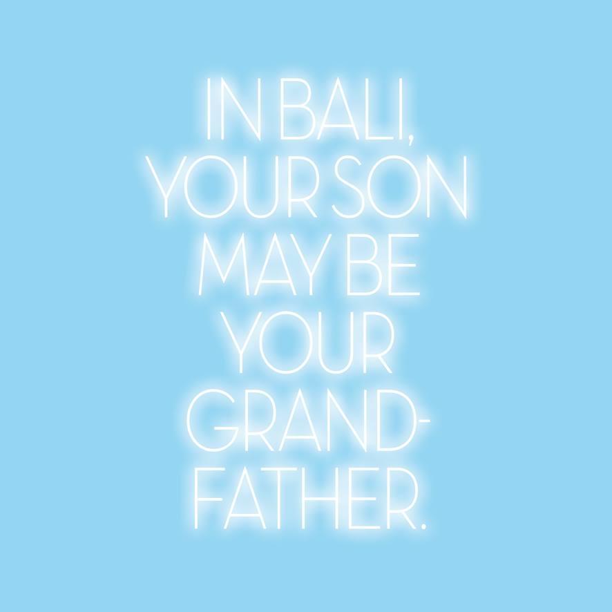 """Réincarnation : """"A Bali, ton fils peut être ton grand-père"""" © Welcome to Smisland"""