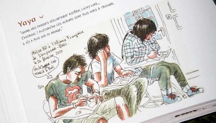 Livre Kompilasi Komikus Carnets de résidence en Indonésie - Balisolo, 2014_47