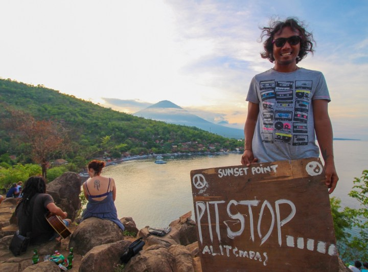 Sunset Point in Amed (Karangasem, Bali, Indonesie) - Balisolo_5
