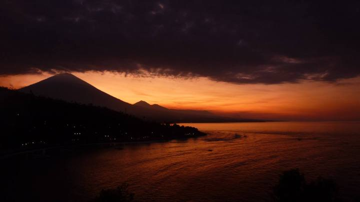 Sunset Point in Amed by Kim