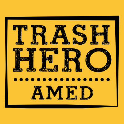 Trash Hero Amed logo