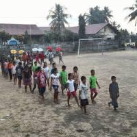 Répetition du défilé pour le Lovina Festival - Association Anak Bali