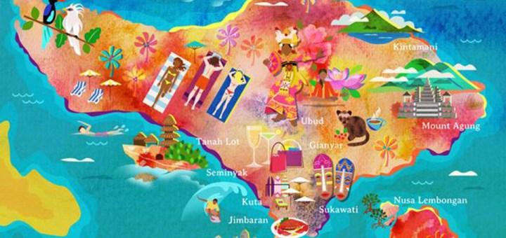 Bali Est Une Petite Le Entre La Grande Java Et Sauvage Lombok Sur Carte Elle Vraiment Minuscule Bien Plus Que Notre Corse Franaise Qui