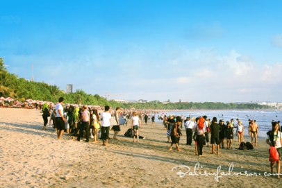 bali, kuta beach, afternoon