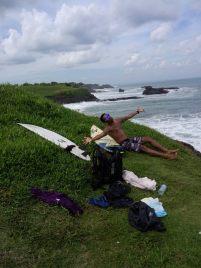 nirwana bali, surf spot, view