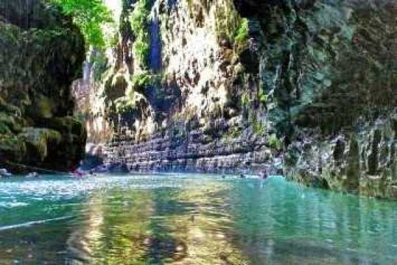 wisata bali keren, hidden canyon