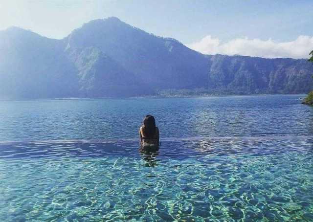wisata favorite di bali - hotspring kintamani