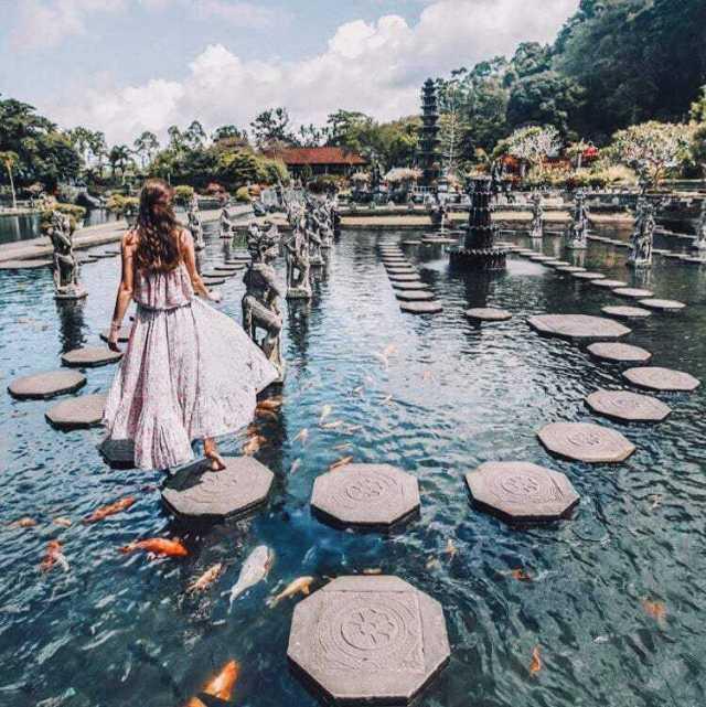 wisata keren di bali, Tirta Gangga Bali
