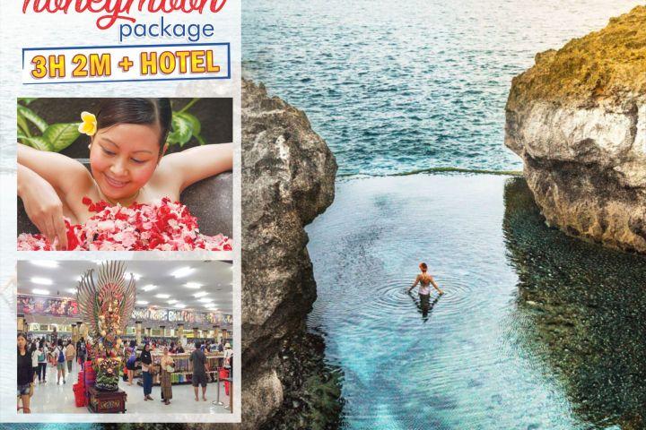 Paket Honeymoon 3 Hari 2 Malam + Nusa Penida