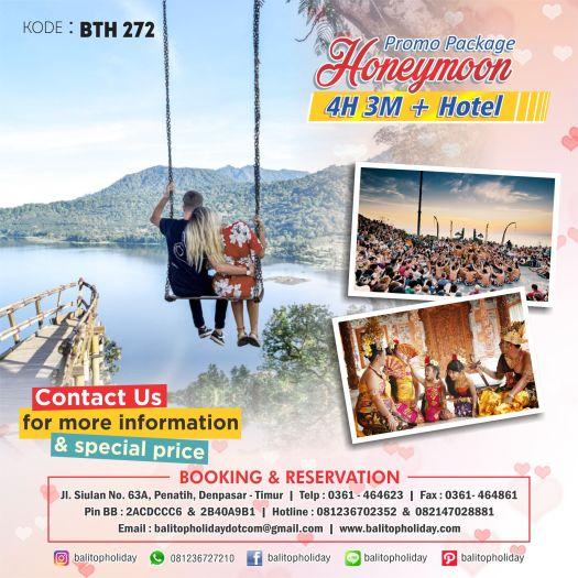 Paket Honeymoon 4 Hari 3 Malam Opsi B BTH 272