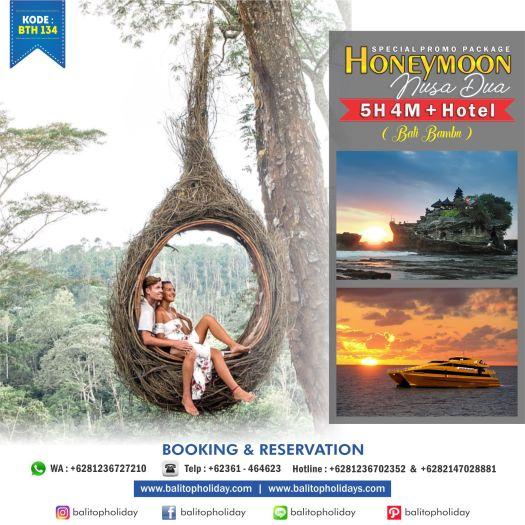 Paket Honeymoon 5 Hari 4 Malam Nusa Dua Bali