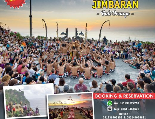 Uluwatu - Tari Kecak Jimbaran One Day Tour BTH 294 Bali Orange