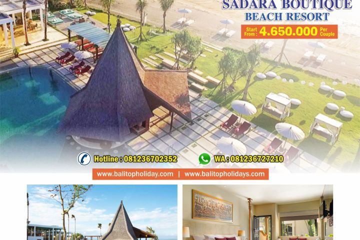 Honeymoon Package Sadara Beach Resort 3H 2M BTH 401