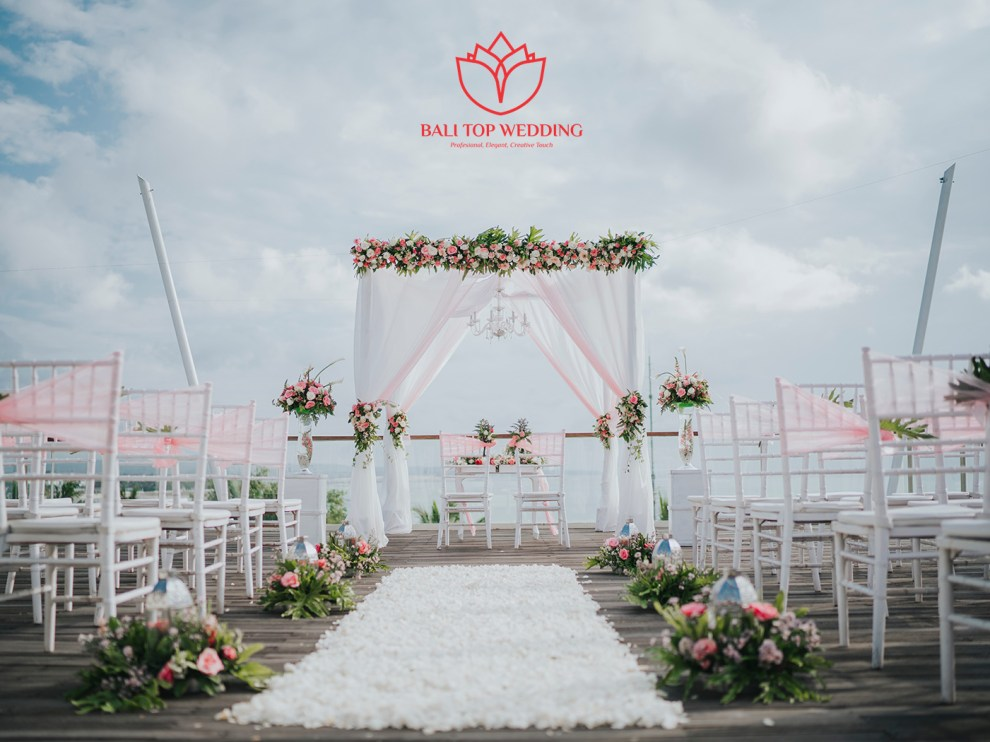 Beach View Rooftop Wedding