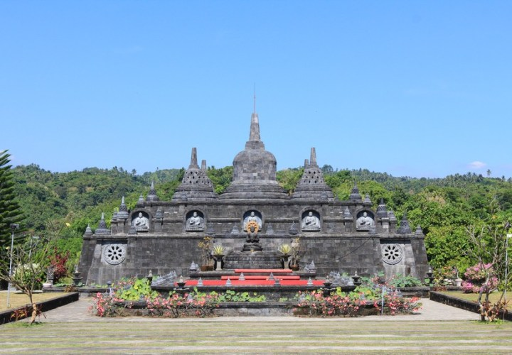 Brahmavihara Arama is the only Buddhist temple in Bali