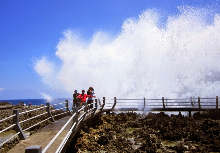 Water Blow Nusa Dua, Romantic Cliffs in Bali