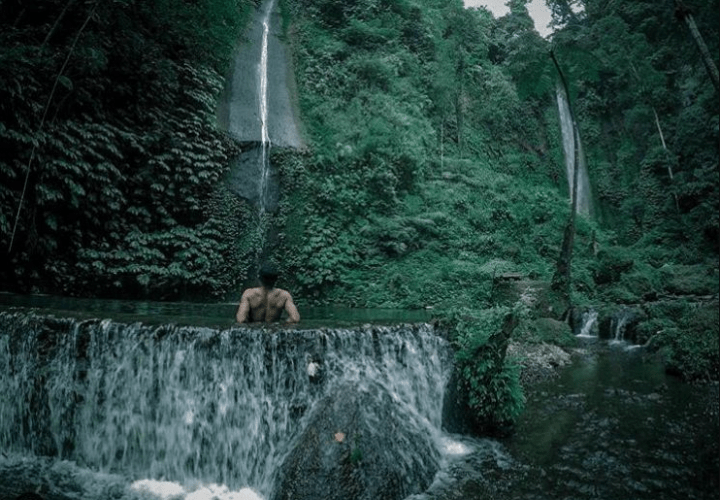 Pucak Manik Wanagiri Waterfall, The Splendor of Three Twin Falls