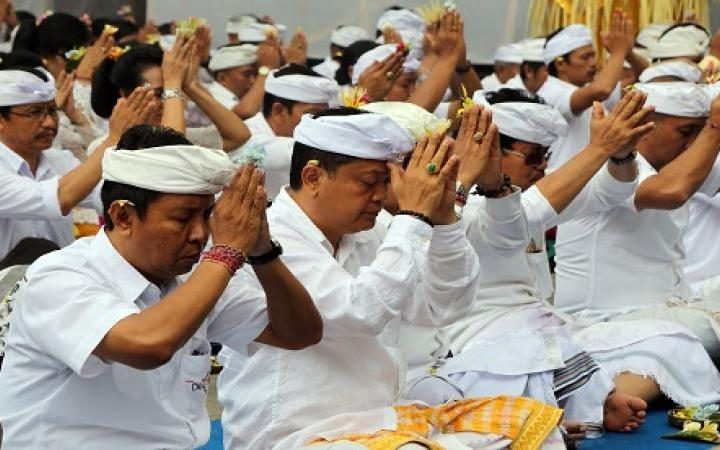 Information About Penganyar Ceremony in Bali