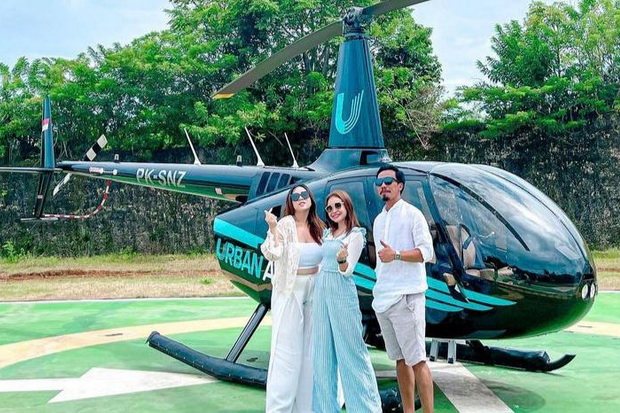 Around Bali, Just Rent an Urban Air Helicopter with Prices Starting at IDR 5.5 million