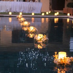 Chairs Wedding Decoration Swing Chair Desk Lantern-floating Candles | Bali Tropical Florist