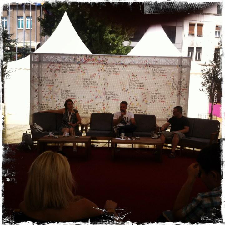 Srdjan Golubovic af dem 19. Internationalen Filmfestival von Sarajevo 2013