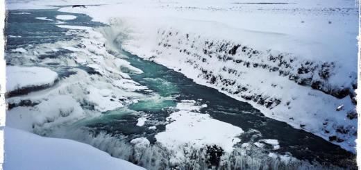 Gulfoss-Wasserfälle in Island (Foto: balkanblogger.com)