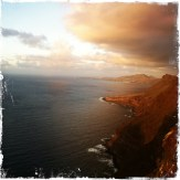 Die Sonne geht langsam unter und Aussichtspunkte laden zum Halt ein, um … (Foto: balkanblogger.com)