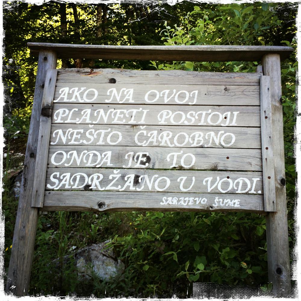Wasser spielt eine wichtige Rolle in der Geschichte Bosnien-Herzegowinas (Foto: balkanblogger)