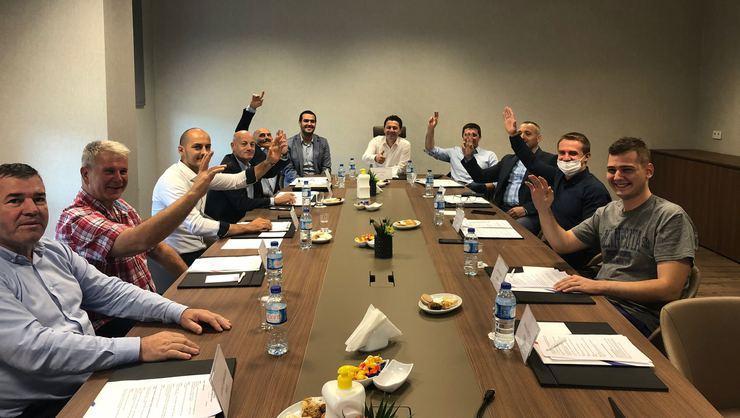 Balkan cimnastik federasyonları İstanbul'da toplandı