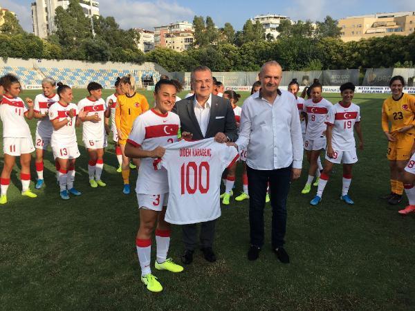 A Milli Kadın Futbol Takımı, Arnavutluk'u 4-1 yendi