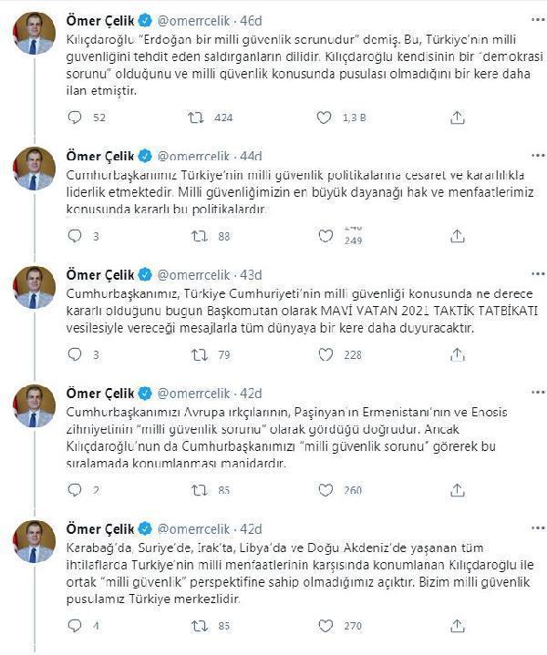 AK Parti Sözcüsü Çelik, Kılıçdaroğlu'nun Cumhurbaşkanı Erdoğan'a yönelik sözlerine yanıt verdi Açıklaması