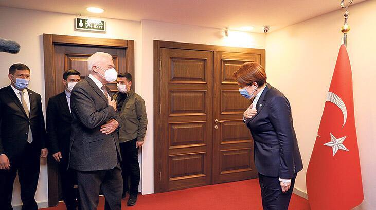 Akşener, Yunanistan  elçisiyle görüştü