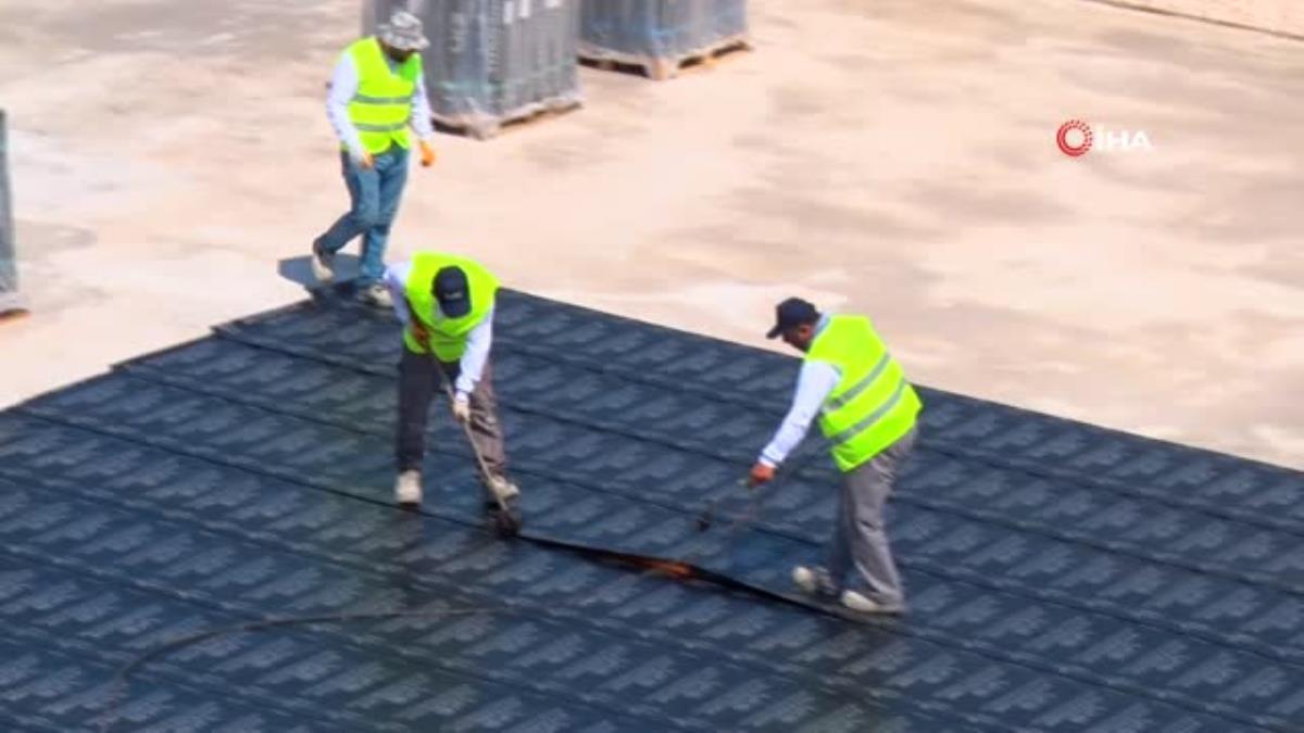Aliağa Meslek Hastalıkları Hastanesi'nde inşaat devam ediyor