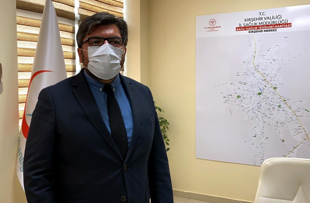 """Aşılamada """"mavi"""" kategoriye geçen Kırşehir'de 380 bin doz aşı yapıldı"""