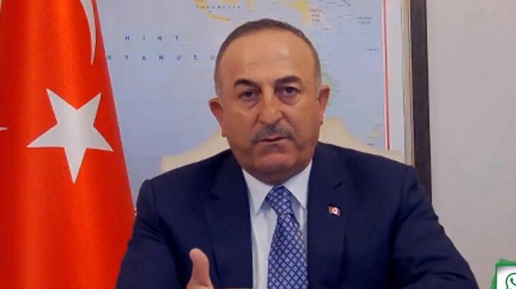 Bakan Çavuşoğlu'dan dış politika değerlendirmesi: Milletimizin çıkarı her şeyin üzerinde