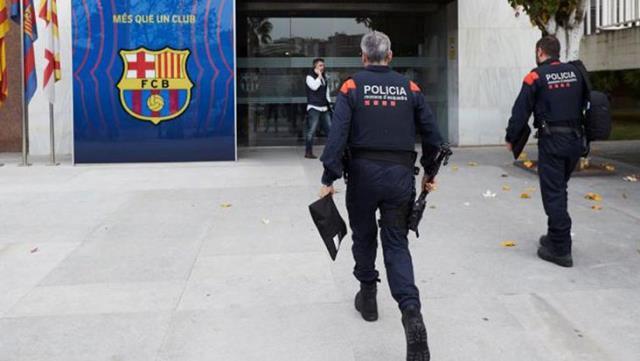 Barcelona'da yolsuzluk operasyonu! Eski başkan Josep Maria Bartomeu gözaltına alındı