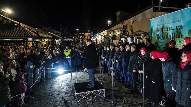 Bosna Hersek'te Hz Muhammedi anma etkinliği