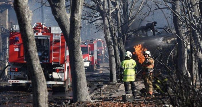 'Bulgaristan'da bir silah fabrikasında yangın çıktı'