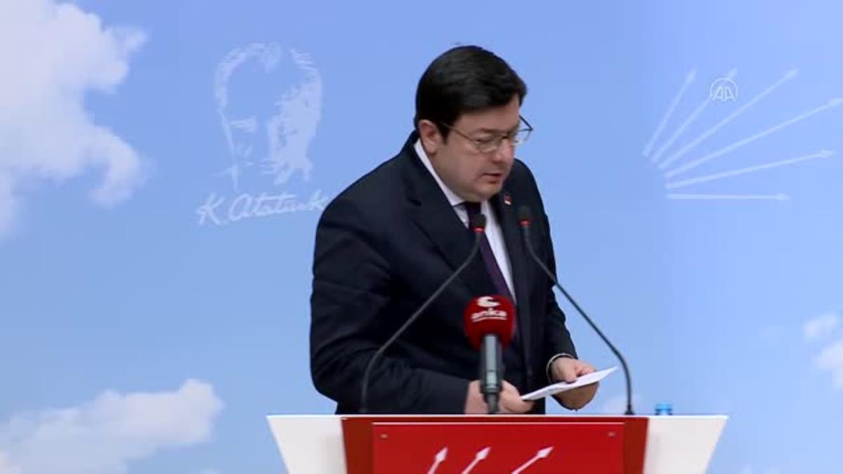 """CHP Genel Başkan Yardımcısı Erkek'ten """"yeni anayasa"""" eleştirisi"""