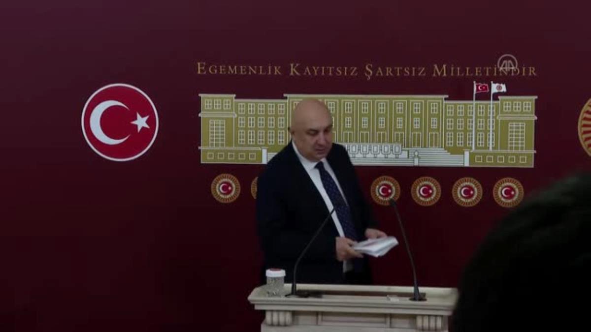 CHP Grup Başkanvekili Özkoç, Meclis Başkanlığına sunulan dokunulmazlık fezlekelerini değerlendirdi (3)