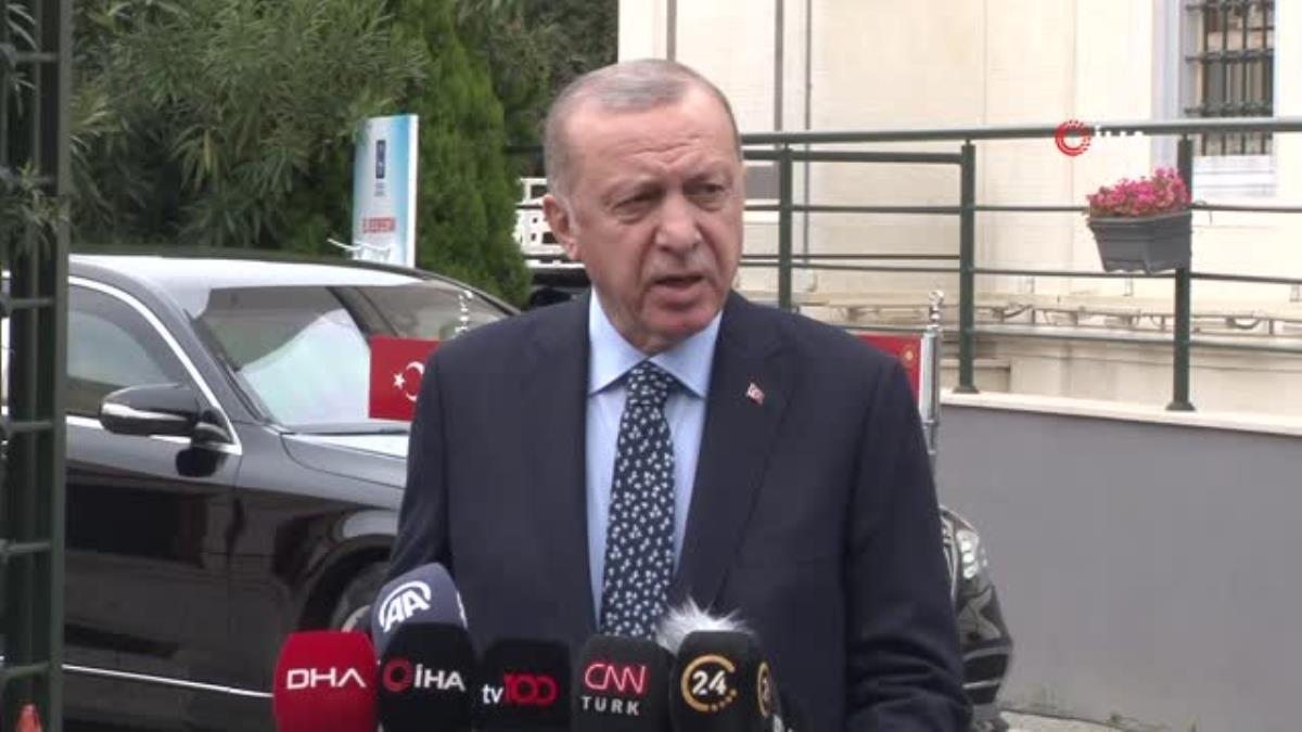 """Cumhurbaşkanı Erdoğan: """"Bir siyasi cinayetin işlenmesine, bunun ülkemizde yer etmesine asla bizler iktidar olarak fırsat vermeyiz"""""""