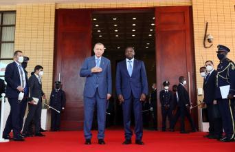 Cumhurbaşkanı Erdoğan, Togo Cumhurbaşkanı Gnassingbe ile ortak basın toplantısında konuştu Açıklaması