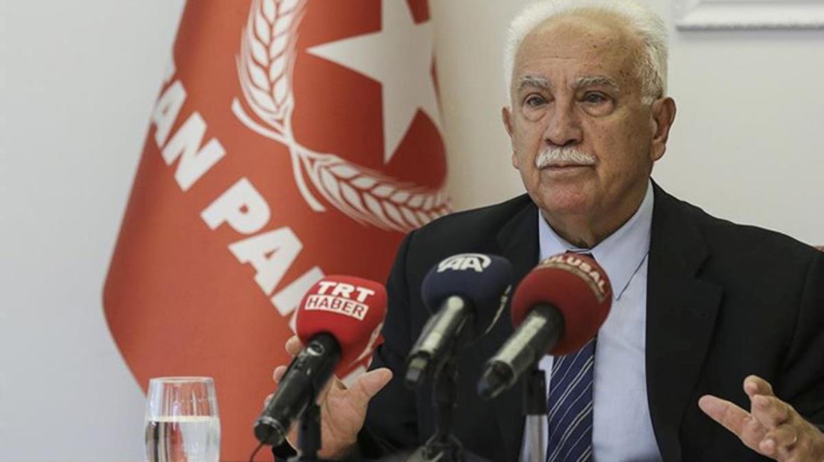 Doğu Perinçek'ten ilginç sözler: MHP'nin başına geçmekten şeref duyarım