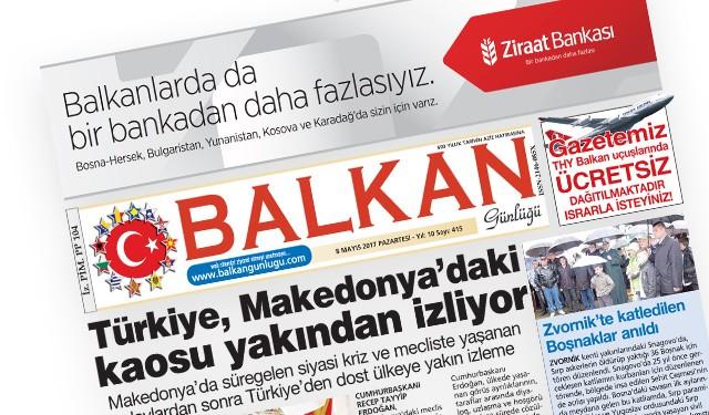 Balkan Günlüğü Gazetemiz TRT Haber'de